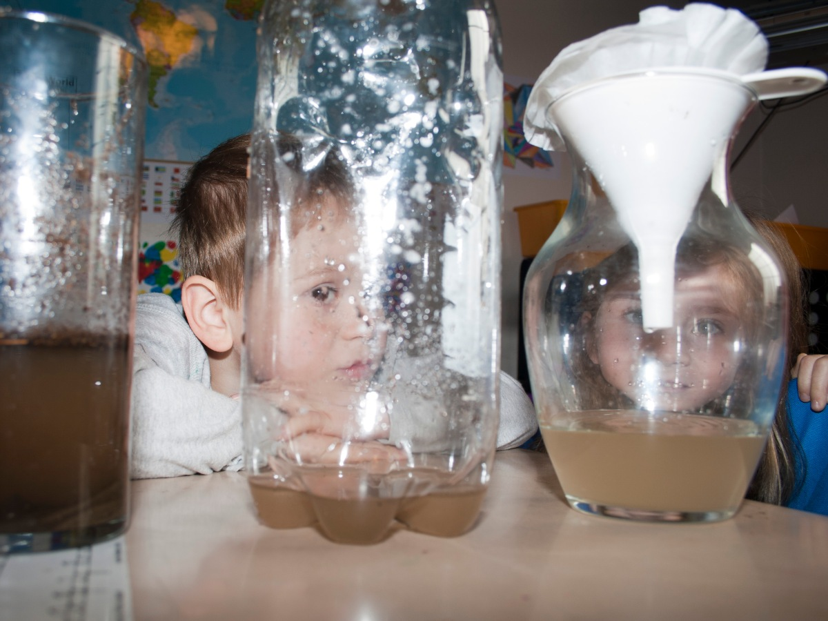 Water Filtration Experiment