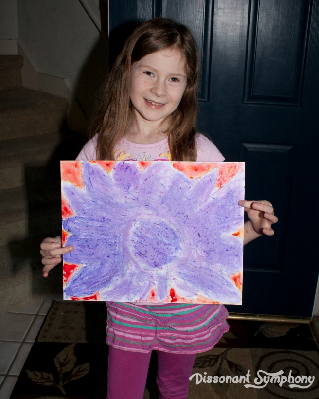 Georgia O'keeffe Kids Art Lesson