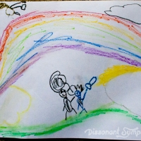 Painting Rainbows in the Sky