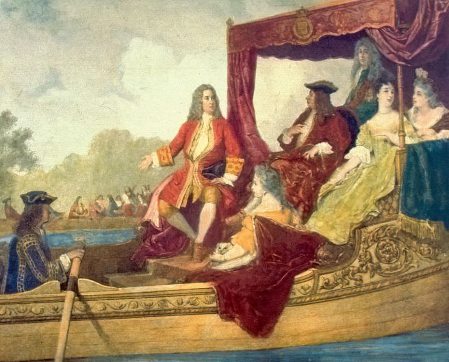 Handel and King George I