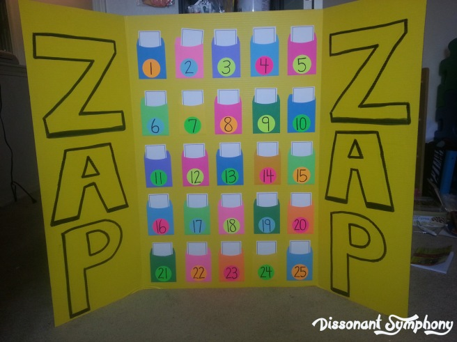 Zap! Review Game - Dissonant Symphony