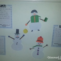 LOST! A Winter Writing Activity